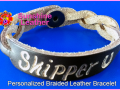 Personalized-Braided-Leather-Bracelet-Brown-Natural-Engraving-Skipper-Horseshoe