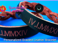 Personalized-Braided-Leather-Bracelet-black-red-Engraving-Sample-Roman-Numerals