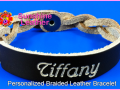 Personalized-Braided-Leather-Bracelet-brown-natural-Engraving-Sample-Tiffany