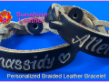 Personalized-Braided-Leather-Bracelet-brown-natural-Vintage-Engraving-Sample-Chassidy-Allen