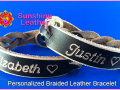 Personalized-Braided-Leather-Bracelet-brown-natural-Vintage-Engraving-Sample-Justin-Elizabeth-Heart