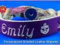 Personalized-Braided-Leather-Bracelet-purple-natural