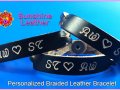 Personalized-Braided-Leather-Bracelets-black-natural