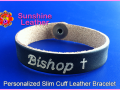 personalized-slim-cuff-leather-bracelet